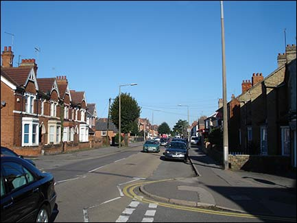 Wellingborough Road from Station Road junction