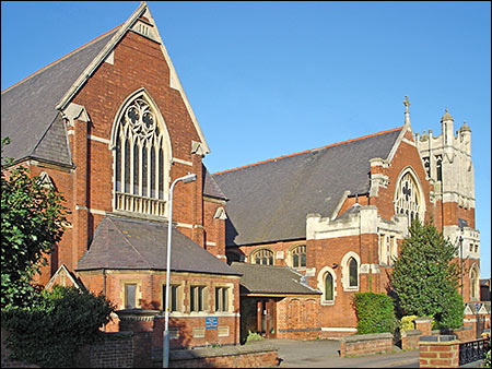 Photograph of the church buildings in Park Road taken in 2007