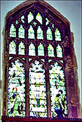 East Window in the Memorial Chapel