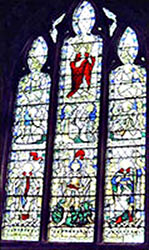South Window in the Memorial Chapel