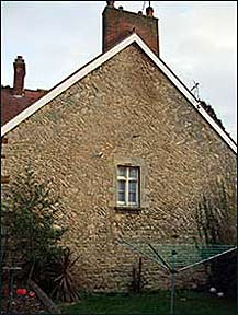 The gable end