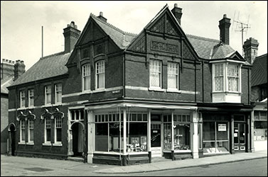 The shop in 1950