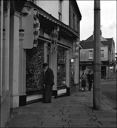 The shop in about 1965