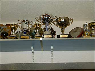 some of the many trophies