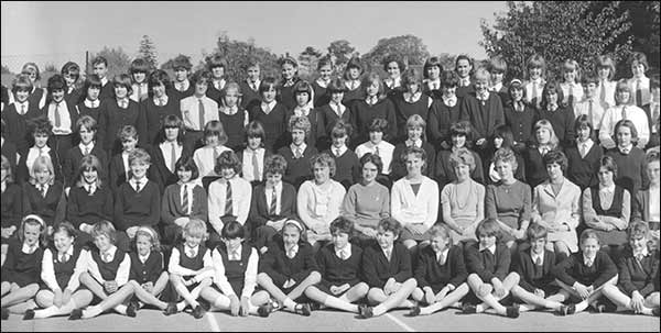 Rushden Research Group North End Girls School 1965