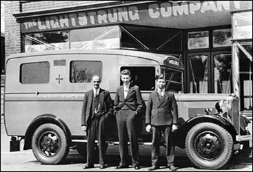 Ambulance supplied in 1935