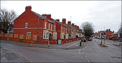 4 houses on Higham Road corner
