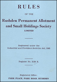 National Society Rules book
