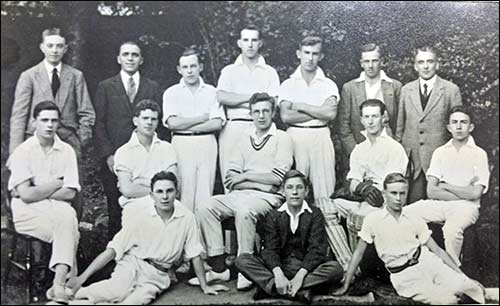 Thursday Cricket team c1925