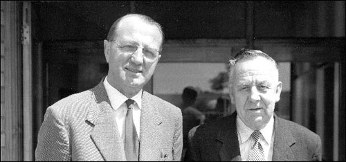 The partners - Edgar Cox & George Wright