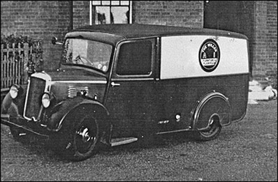 Post World War Two Photograph of Millers Company Van