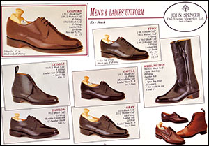 A picture of John Spencer Men's and Ladies' Shoes