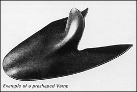 preshaped vamp