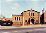 Rushden Catholic Church.  Click here for details of churches and chapels in the town