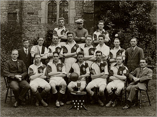 HF St Mary's Football team 1926-27
