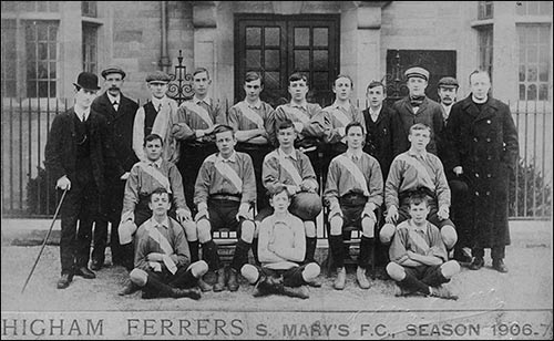 St Mary's Football Team 1906-7