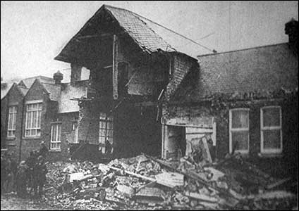 Rushden Research Group Bomb Alfred Street School
